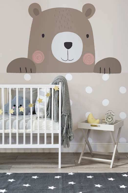 Nursery Room Wallpaper Ideas For Kids Bedrooms And