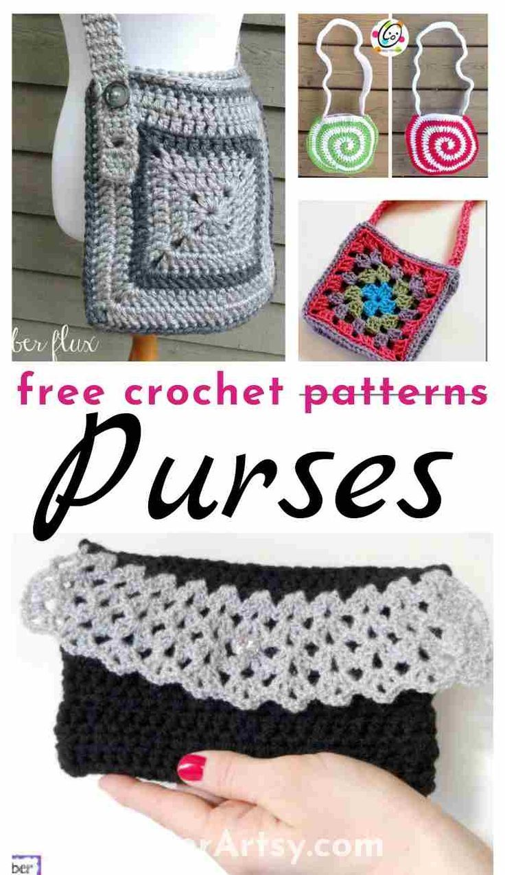 Free Crochet Patterns for Purses and Bags | Do It Yourself ...