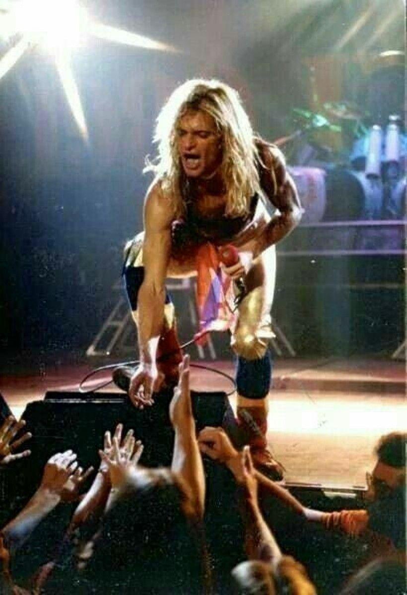 David Lee Roth David Lee Roth Van Halen Eddie Van Halen