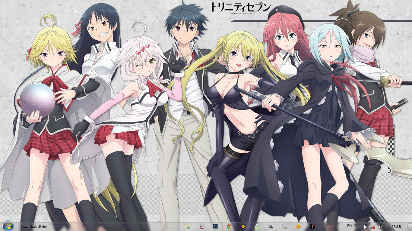 Trinity Seven This Anime Is Really Good I Like It From Start
