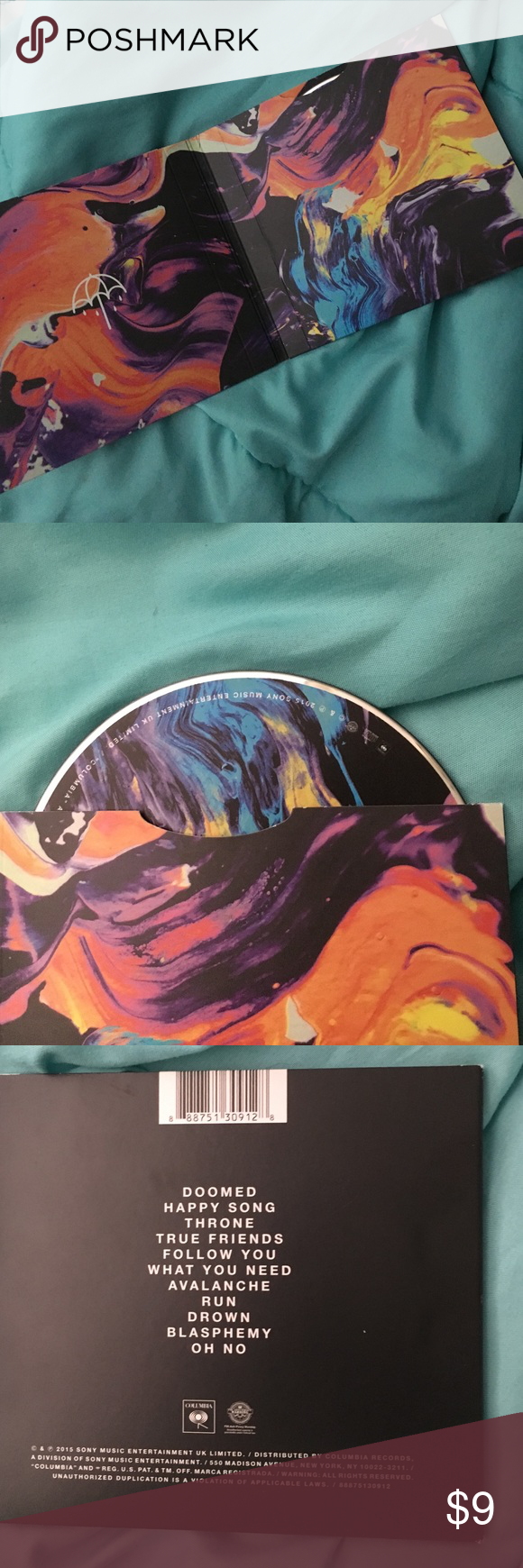 BRING ME THE HORIZON THATS THE SPIRIT CD BMTH that's the spirit cd. only used once Hot Topic Other
