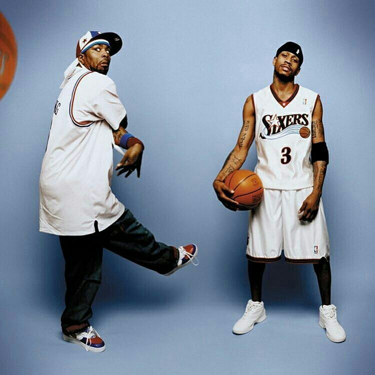 Method Man and Allen Iverson (With images)   Allen iverson, Hip ...