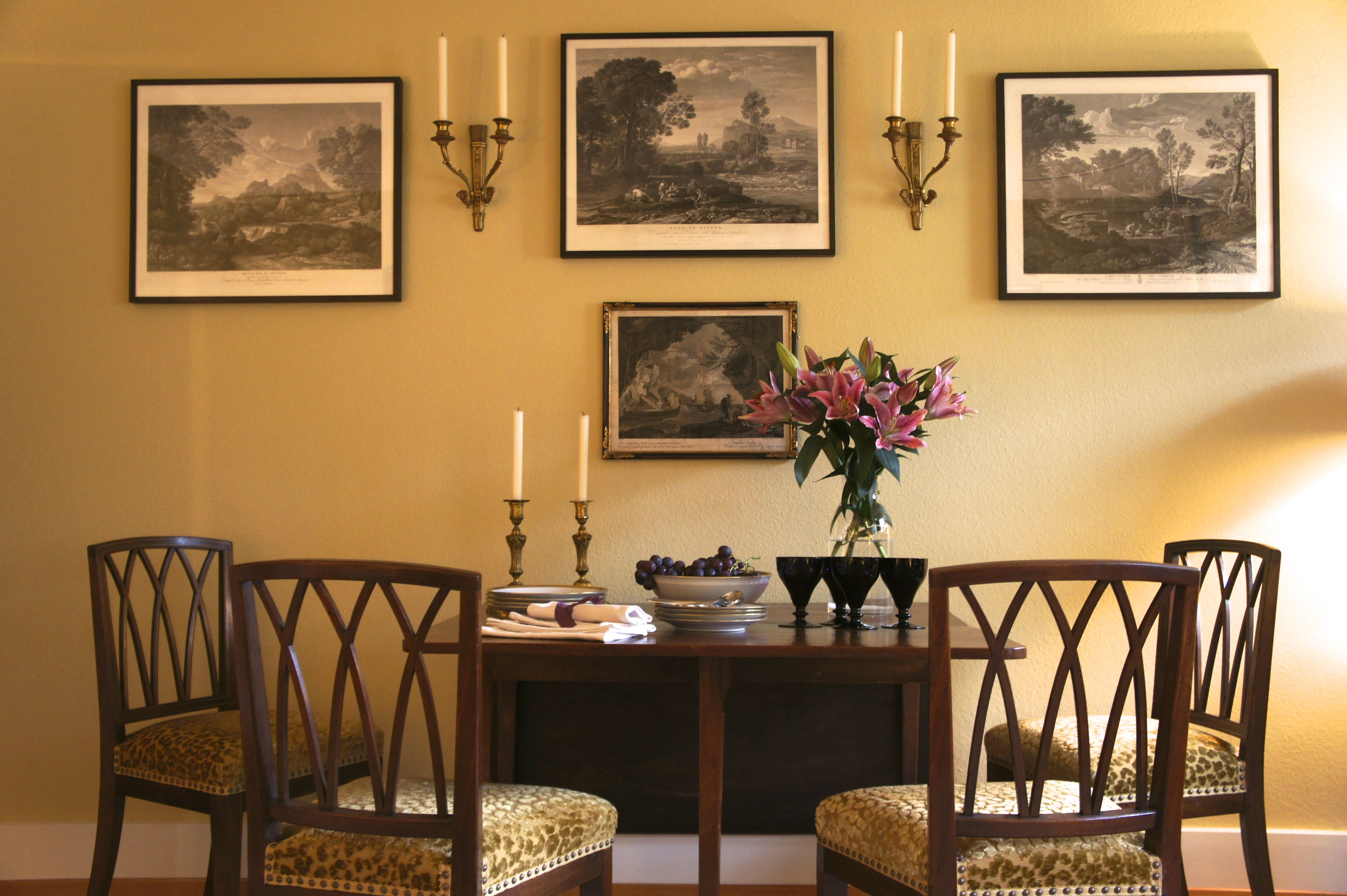 Best Fine Mahogany Furniture Offset By A Warm Yellow Background 400 x 300