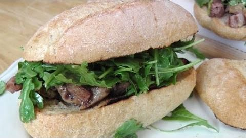 Steak Sandwich Recipe Laura In The Kitchen Steak Sandwich
