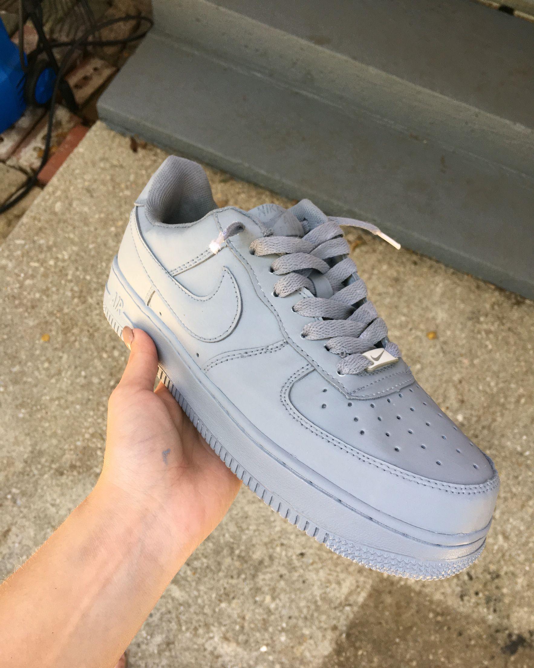 all grey af1