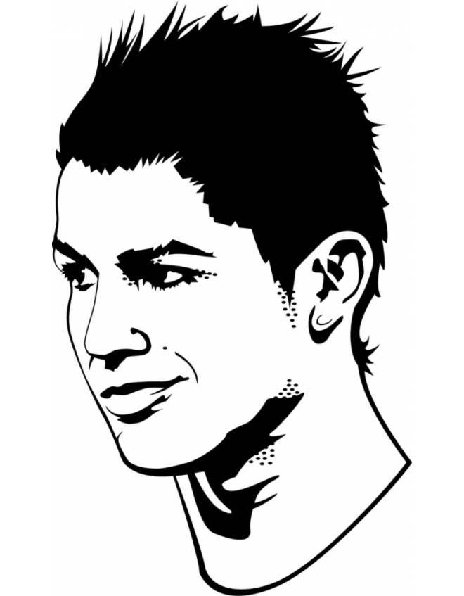 Disegno Cristiano Ronaldo Disegni Da Colorare E Stampare Gratis