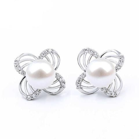 86243b8c4 Big Pearl Stud Earring Charm Jewelry From Touchy Style Outfit Accessories.|  Variant: Light Yellow Color.