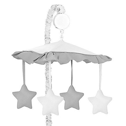 Sweet Jojo Designs Hotel Musical Mobile In White Grey Sweet Jojo Designs Jojo Designs Nursery Decor Shop