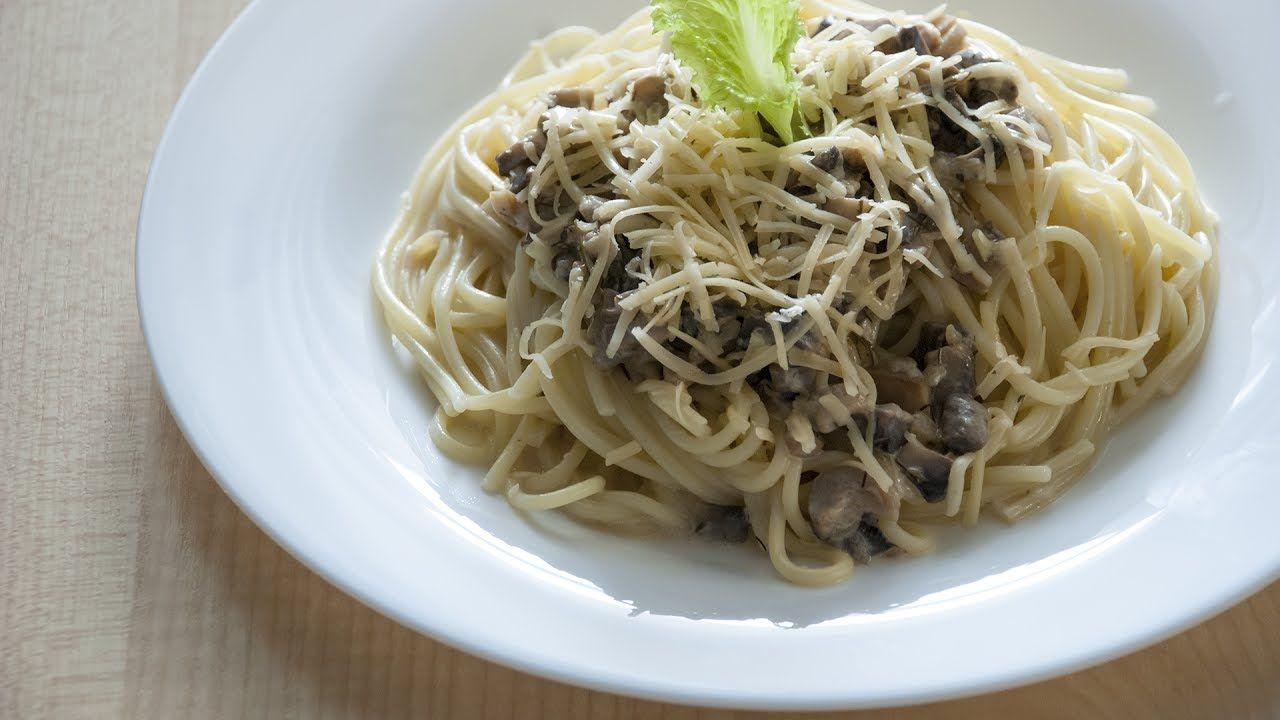 Спагетти с грибами: вкусно, быстро и просто
