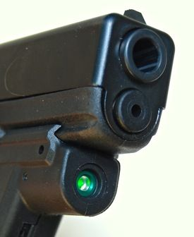 Laser Review: Crimson Trace Green Laserguard for Glock LG