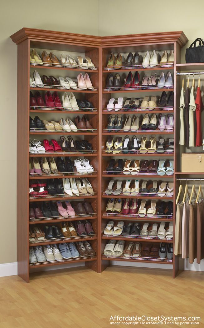 Shoe Holders For Closets | Closet Solutions By Affordable Closet Systems,  Inc.