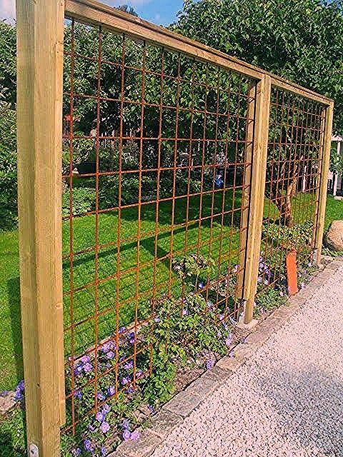 Gitter der Bewehrung - Gartengestaltung ideen