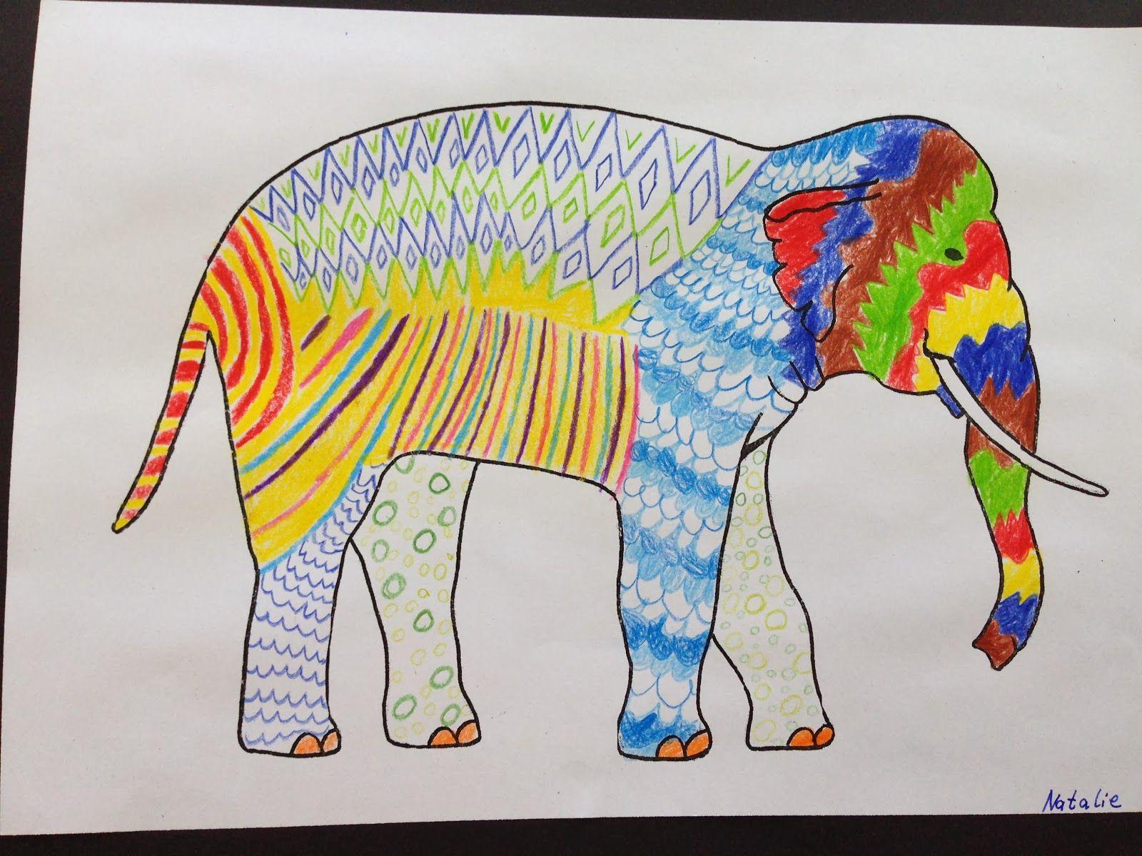Grundschule 2.0: Indische Elefanten | Grundschule Kunst | Pinterest ...
