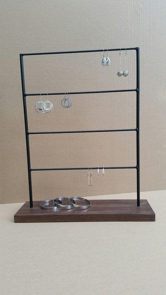 Earring Display Stands Natural Oil Salon Ideas Présentoir De Boucle Doreille Par Robinsonmerchcompany