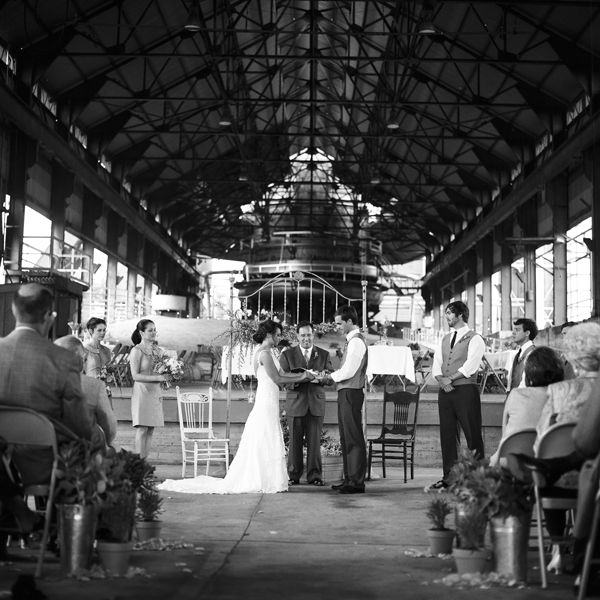 Sloss Furnace wedding ceremony. Birmingham, AL. By Bob ...