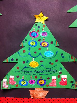Christmas Factor Trees and other Activities! Tis' the season for ...