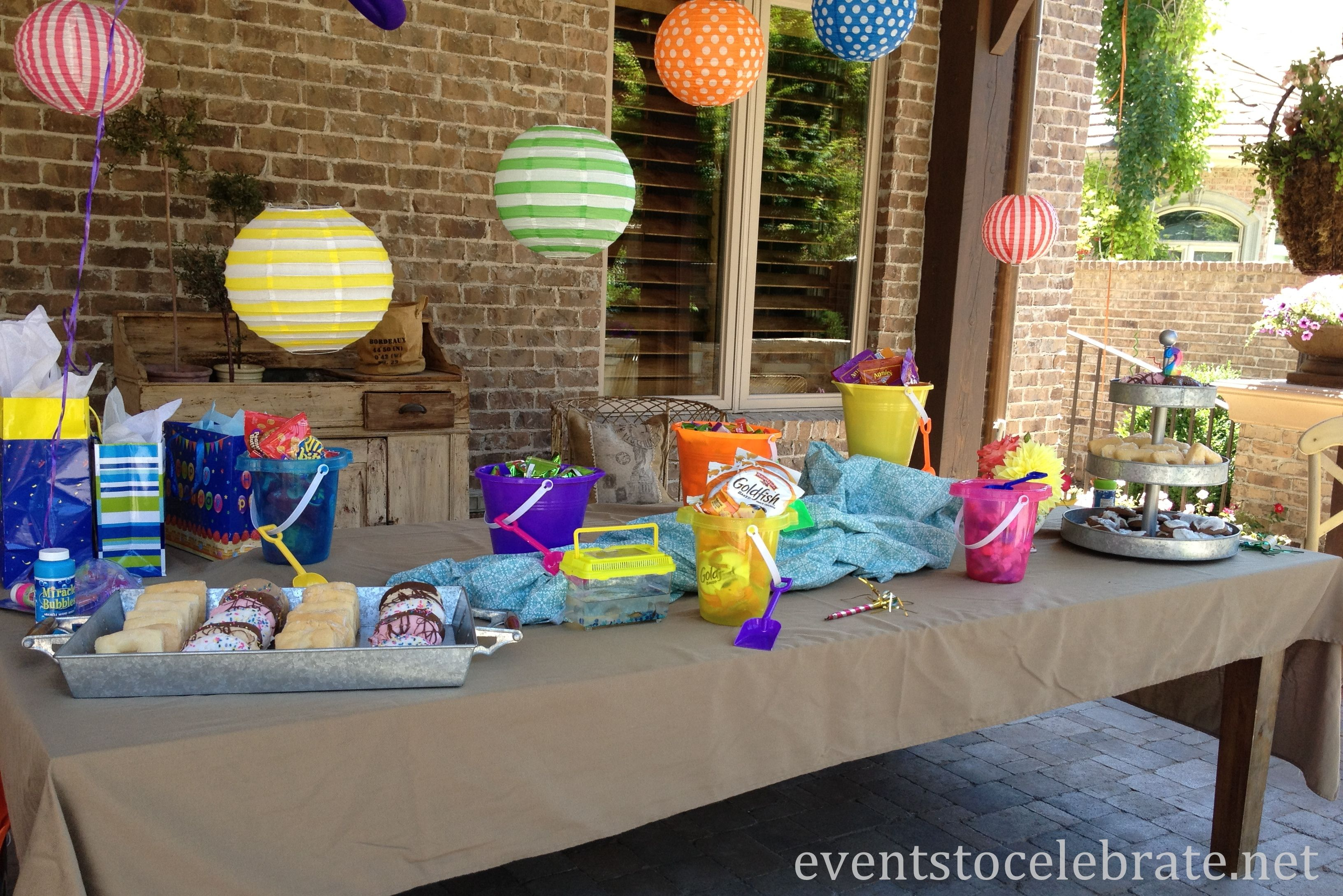 decorations pin by pool party buffet beach ideas carat candy decor