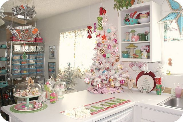 Christmas Kitchen Counter With Images