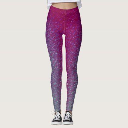 4643ddbd77923 Womens Unicorn Leggings Pink Glitter Yoga Pants $81.40 by CRIdesigns - cyo  customize personalize unique diy idea