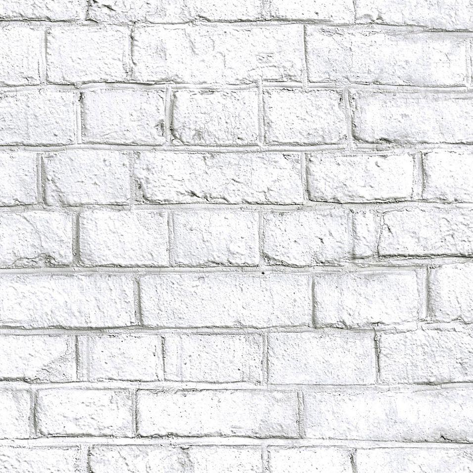 Roommates Whitewash Brick Peel Stick Wallpaper In 2021 White Wash Brick Removable Brick Wallpaper Peel And Stick Wallpaper