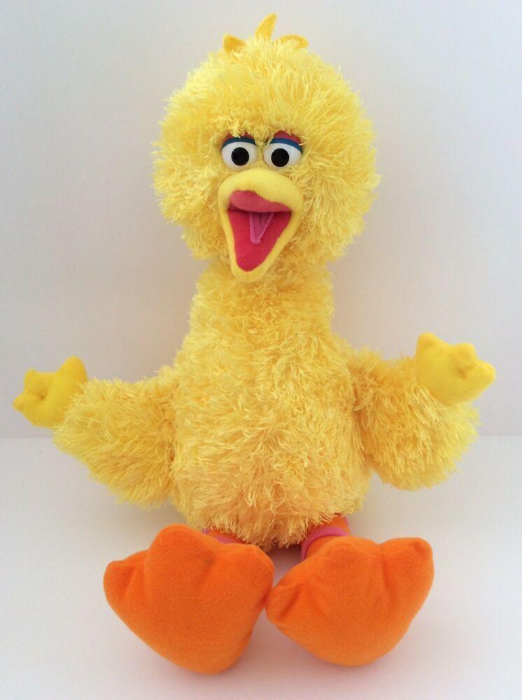 Fantastic New Gund Sesame Street Big Bird Bean Bag Stuffed Animals Spiritservingveterans Wood Chair Design Ideas Spiritservingveteransorg