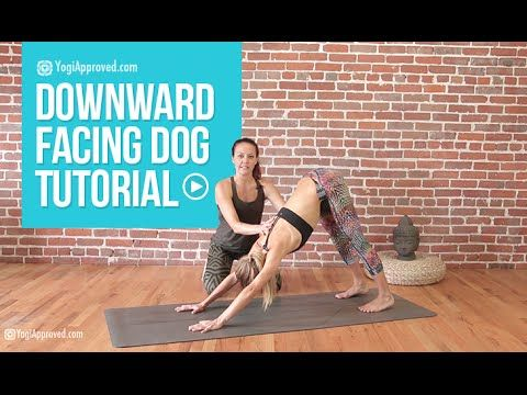 the secret to a perfect downward dog and plank pose hint
