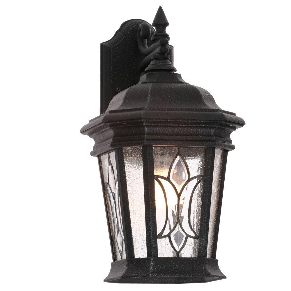 Cranbrook Collection 1 Light Gilded Iron Wall Lantern Outdoor Lightingoutdoor