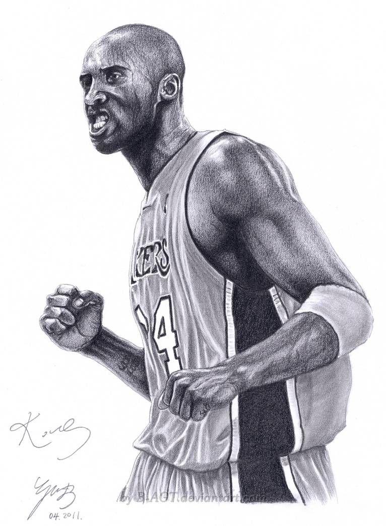 Kobe Bryant L A Lakers By B Agt In 2020 Kobe Bryant Black Mamba