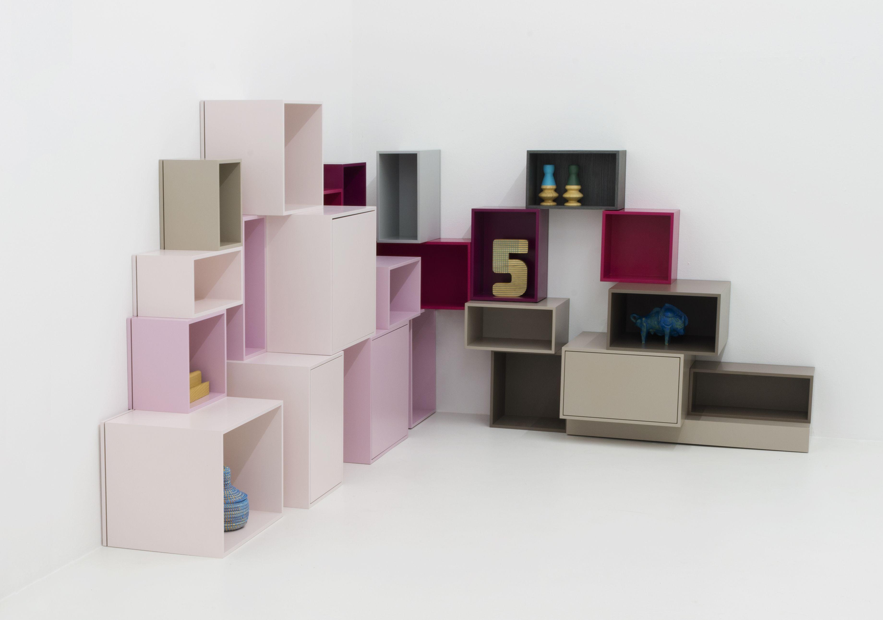 etagere angle cube rangement meuble cube