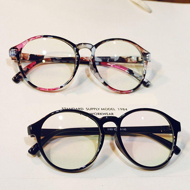 448d101849 Large Oversized Round Vintage Geek Nerd Clear Lens Eye Glasses Frames  Fashion