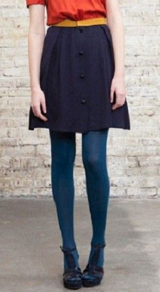 Extend Your Bottoms - All The Different Ways To Wear Tights This Fall - Photos