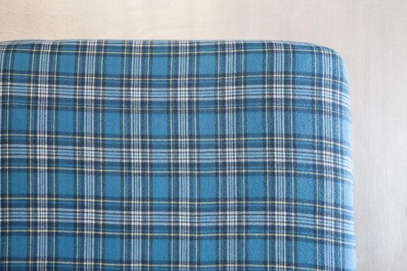 I love plaid flannel for a baby boy, and this flannel is seriously soft and cozy! Fitted Crib Sheet or Toddler Bed Sheet by ViviAnnaBanana