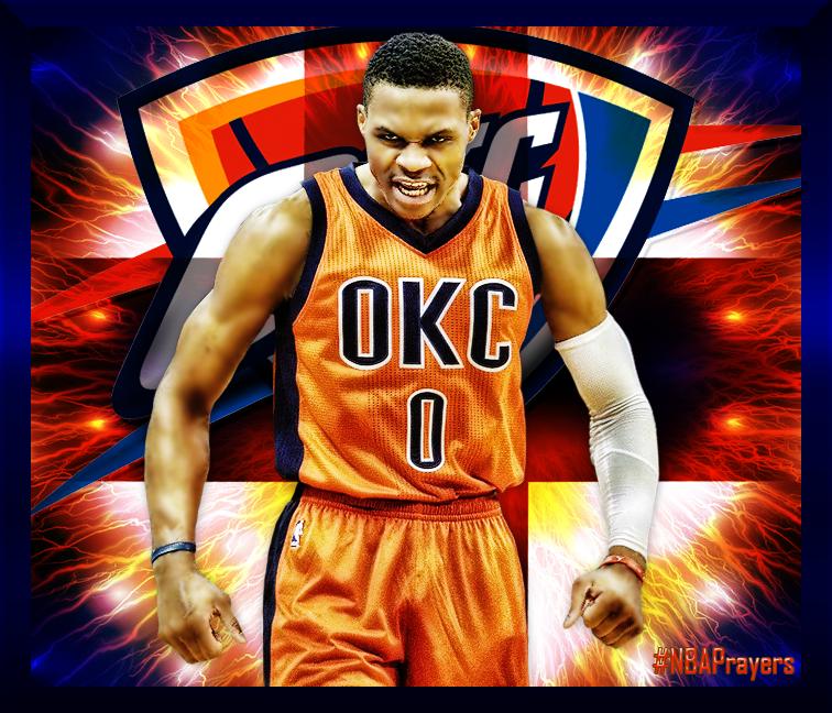 Nba Player Edit Russell Westbrook Okc Thunder Basketball Thunder Nba Okc Thunder
