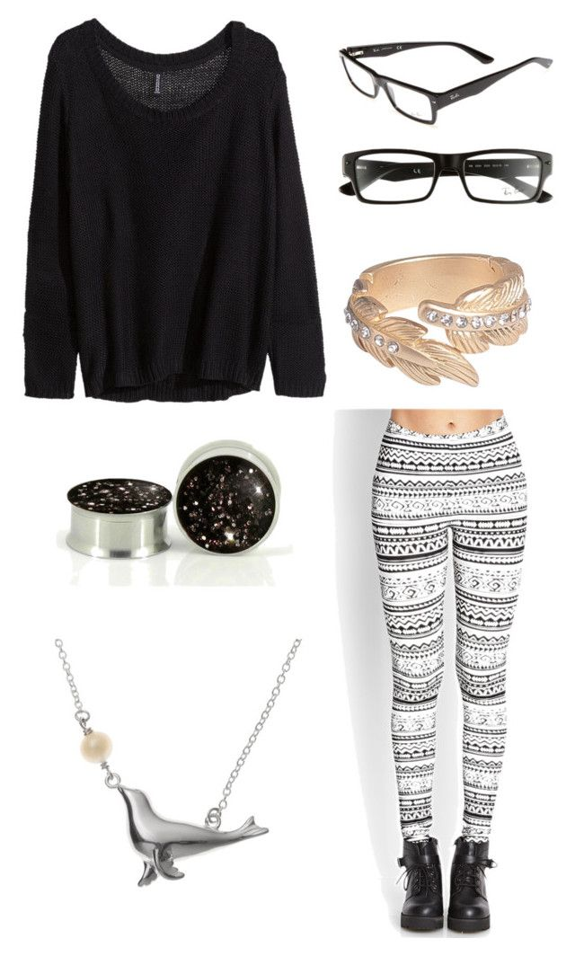 """SWAW ~ Ch. 41"" by band-addict ❤ liked on Polyvore featuring Forever 21, H&M, Pieces and Ray-Ban"