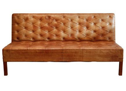 Kaare Klint Danish Tufted Leather Banquette Sofa, 1930 U2013 Galerie Half Via  Atticmag