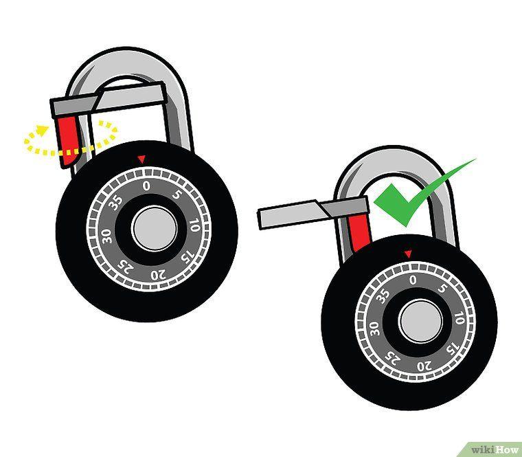 how to open a locker lock