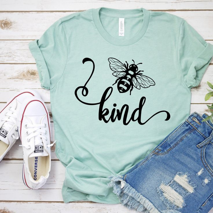 Bee Kind Svg Cut Files for Cricut, Bee Kind Shirt Svg, Kindness Is Contagious Svg, Kindness Matters