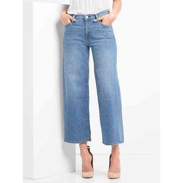 Gap high waisted wide leg jeans