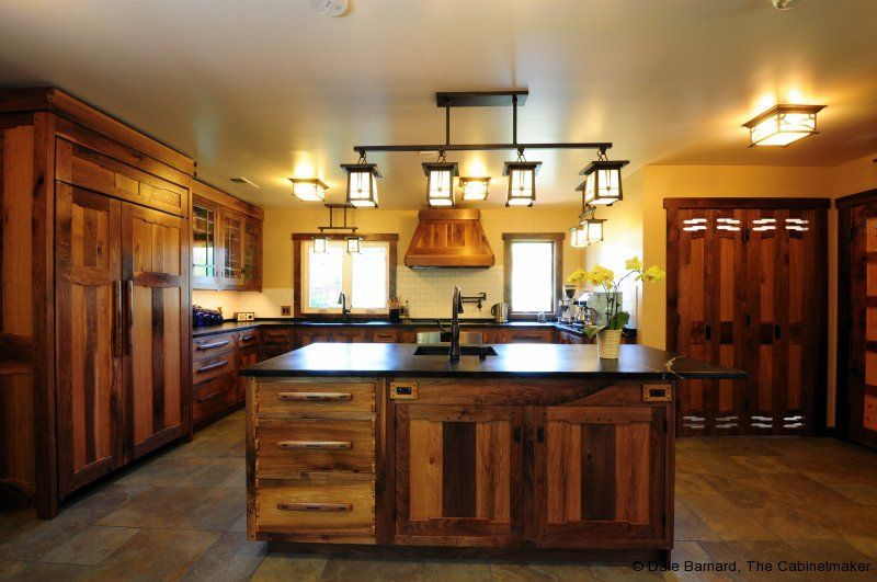 Kitchen, Antique Kitchen Cabinet For Country Kitchen Decorating Ideas With  Unique Overhead Lighting: Fashionable Kitchen Cabinet Lighting Ideas