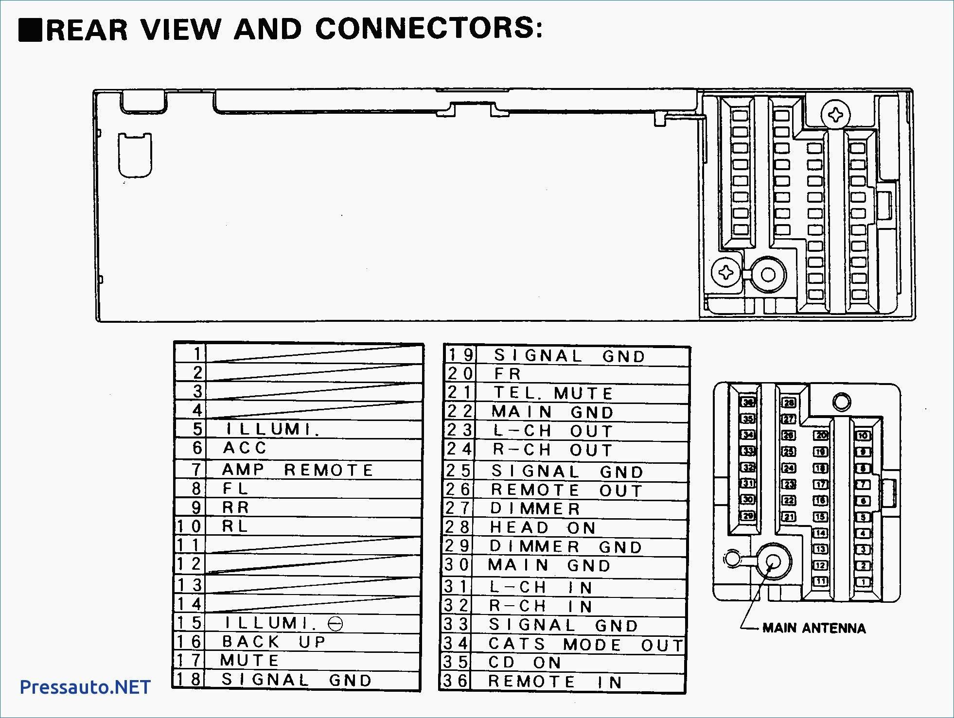 Car Radio Wiring Diagram New In 2020 Car Stereo Diagram Diagram Design