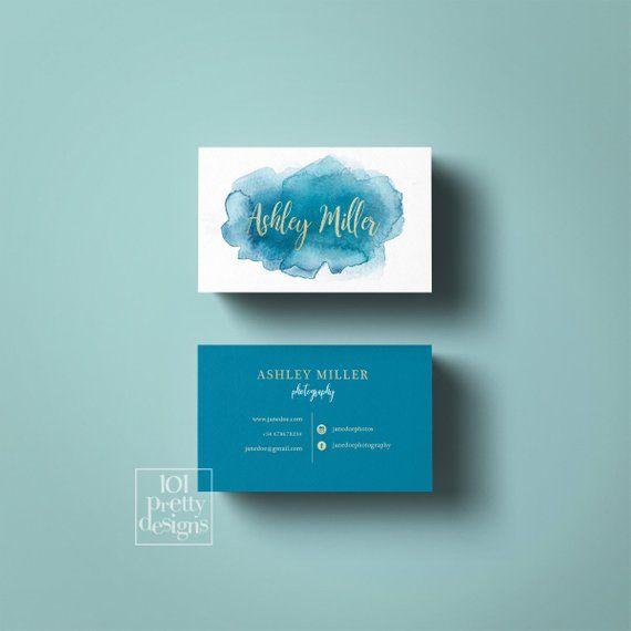 Artículos similares a Acuarela tarjeta de visita diseño rosado tarjeta de visita para imprimir tarjetas de visita diseño acuarela blush rosa diseño gráfico maquilladora en Etsy