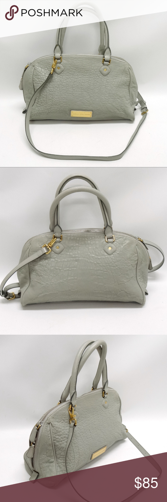 849e5bcd3f79b Marc by Marc Jacobs Gray Pebbled Leather Purse in 2018