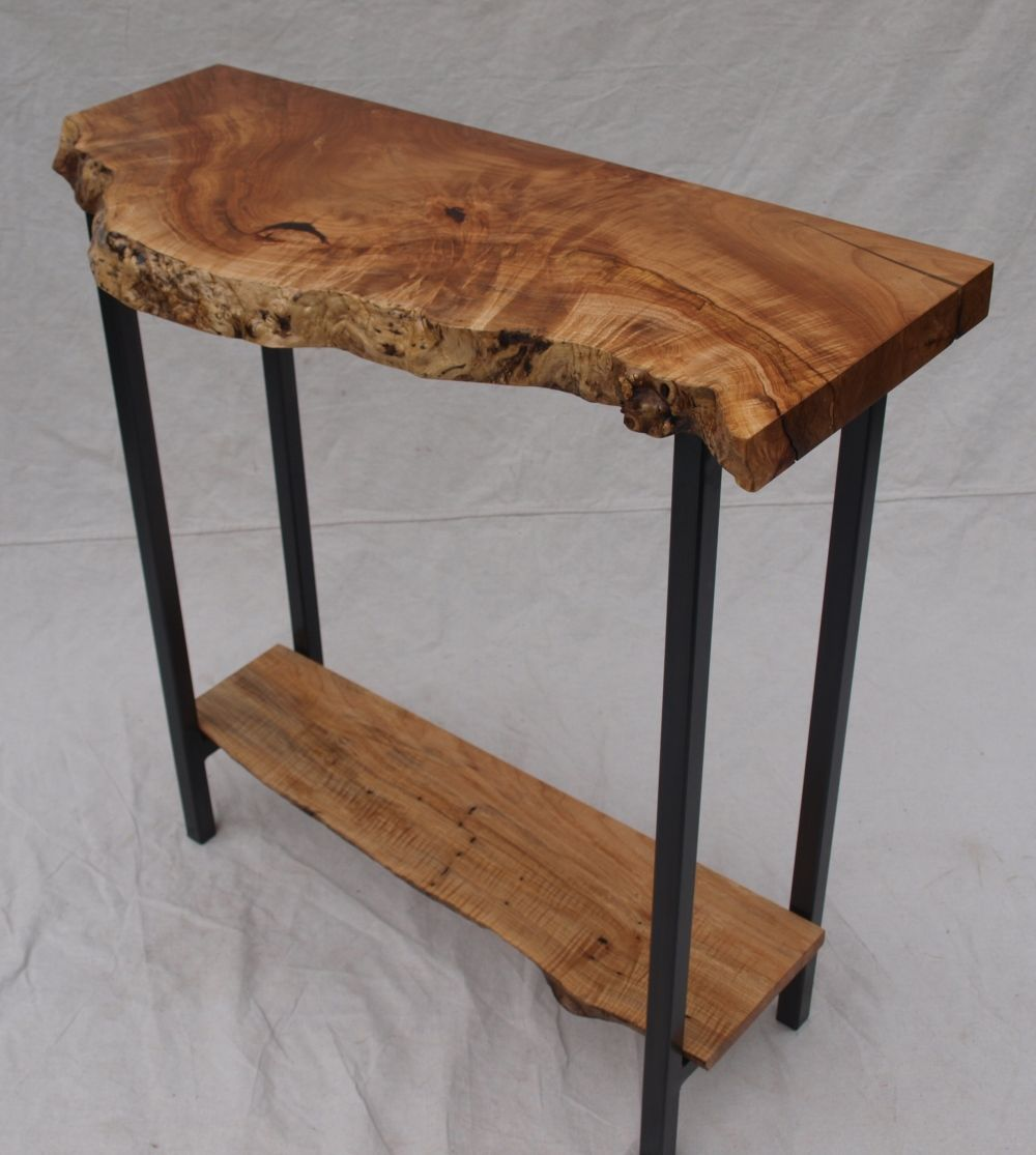 Live Edge Maple Table Custom Furniture Portland Or Witness