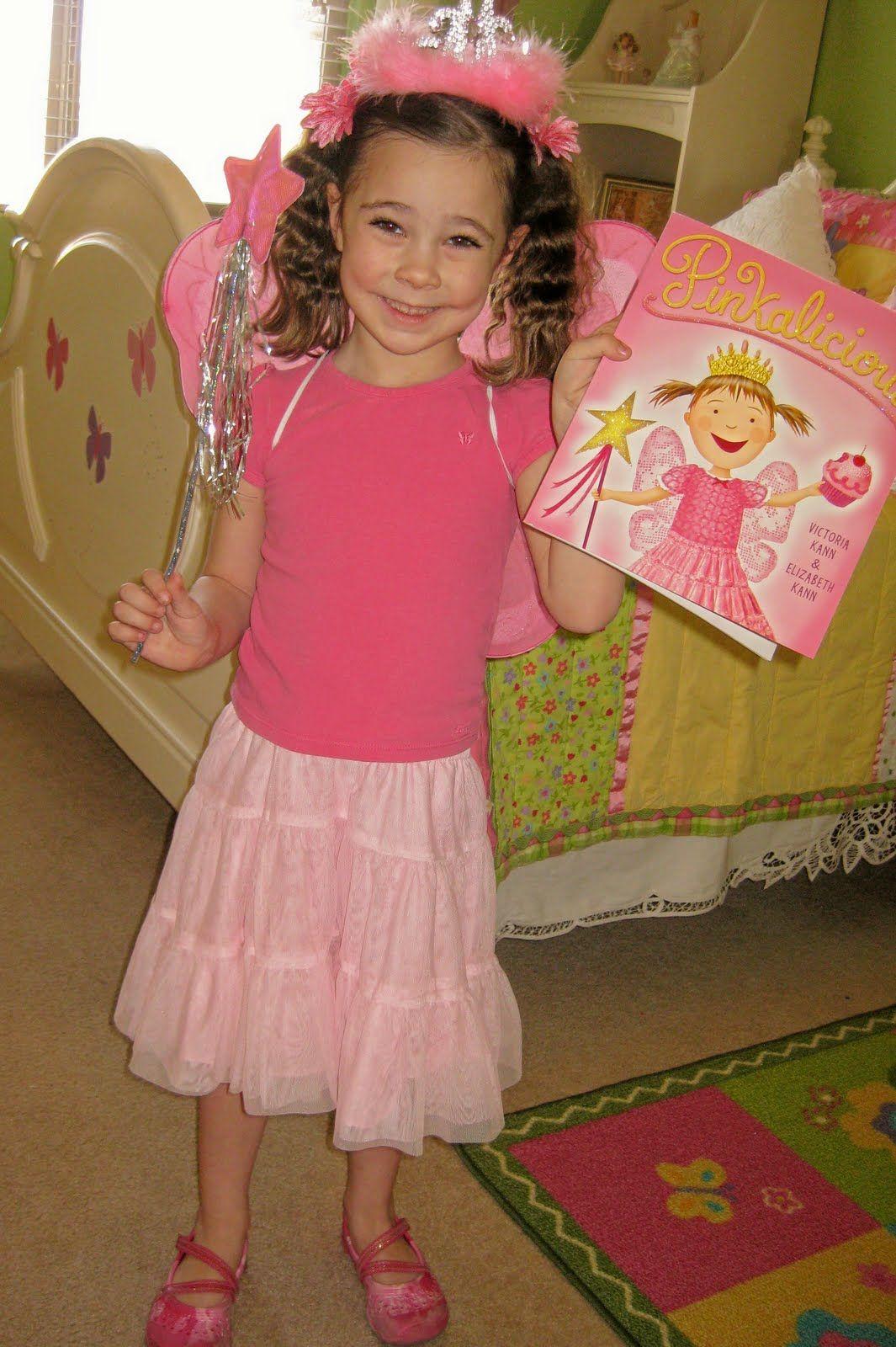 Princess Piggies Flashback Friday Pinkalicious Hair Character Dress Up Childrens Book Character Costumes Kids Book Character Costumes