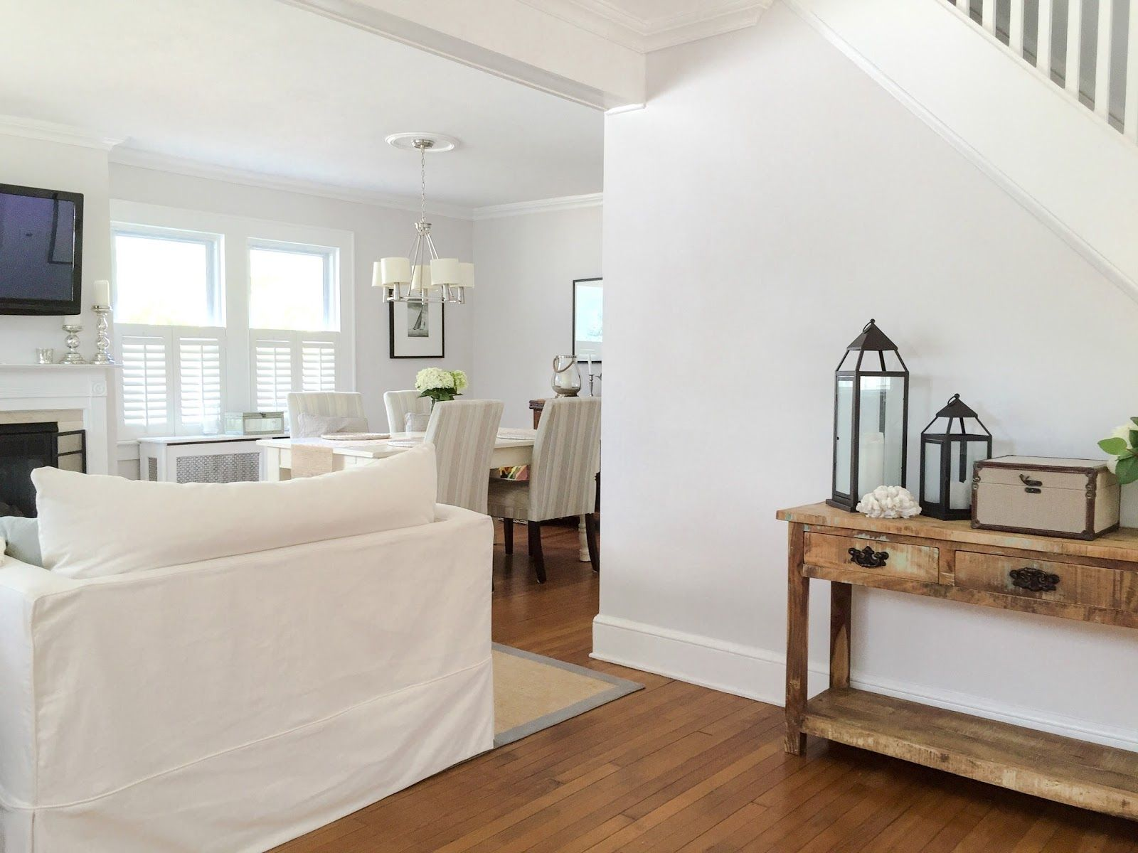 Image Result For Sherwin Williams Eider White Walls Eider White Living Room White White Walls