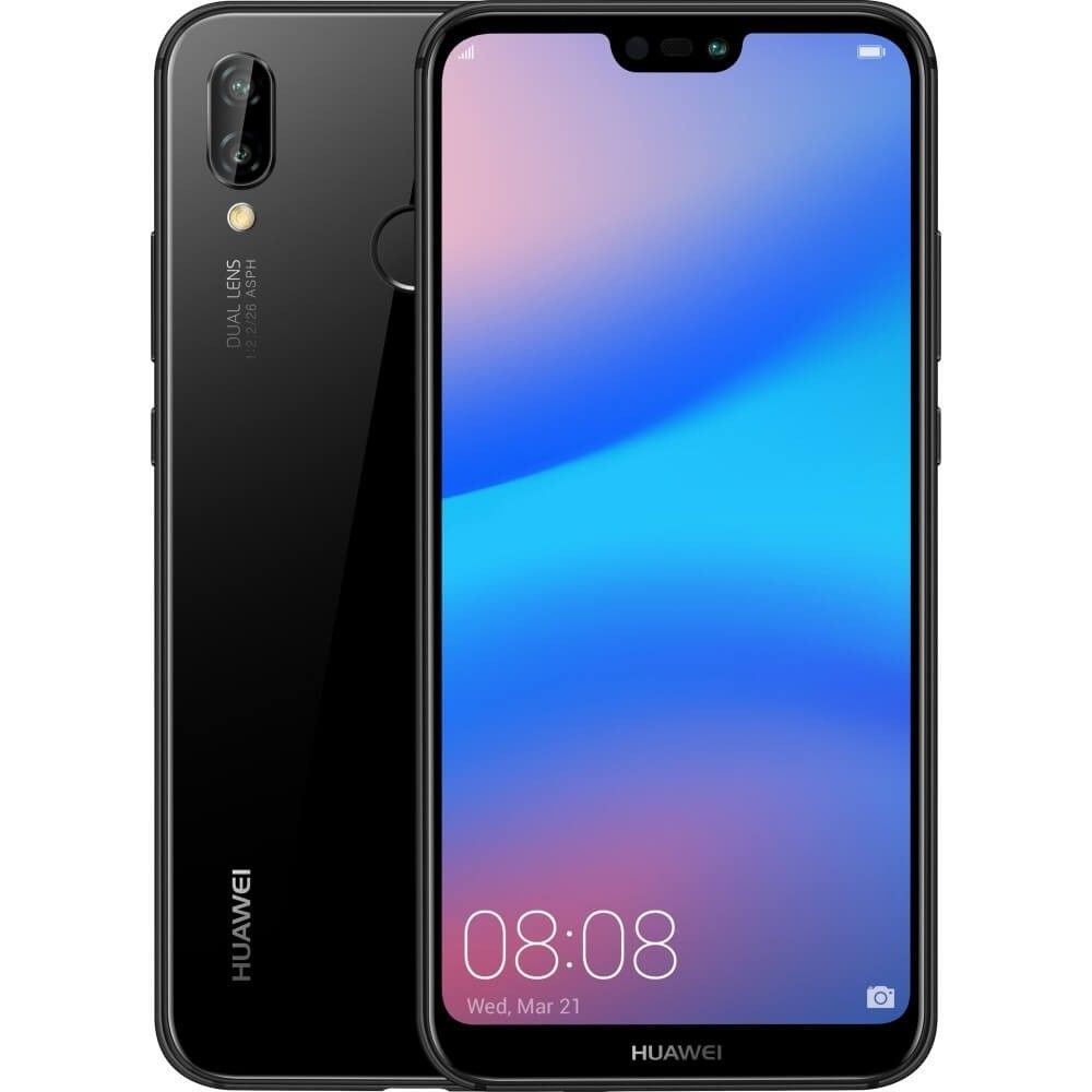 The P20 Lite Comes With A 19 9 Notch Display And 2 5d Curved Glass Back With Glittery Textures That Make It Look Classy And Sleek I Dual Sim Huawei Smartphone
