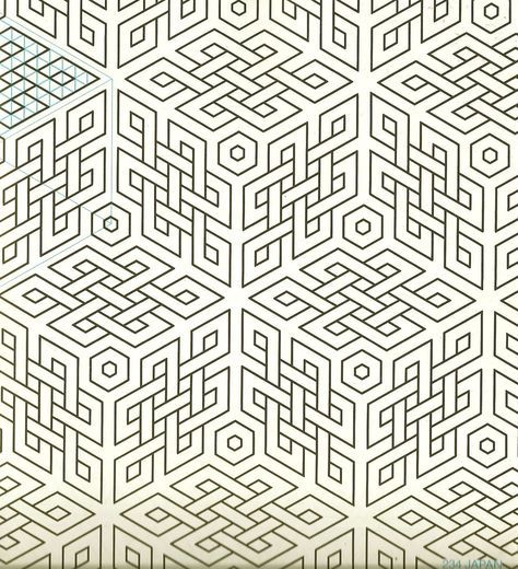 Pin Von Nil Schelling Auf Geometrische Muster Geometric Patterns Geometrische Kunst Musterkunst