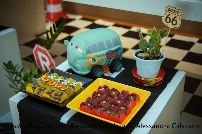 Lightning McQueen Cars Birthday Party Planning Decor Ideas