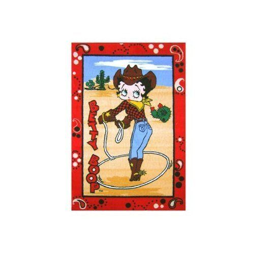 Western Betty Boop Area Rug 31 Quot X 47 Quot By Fun Rugs 29 98