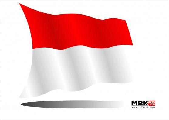 7 Gambar Bendera Indonesia Merah Putih Vector Cdr Ai Pdf Bendera Merah Gambar